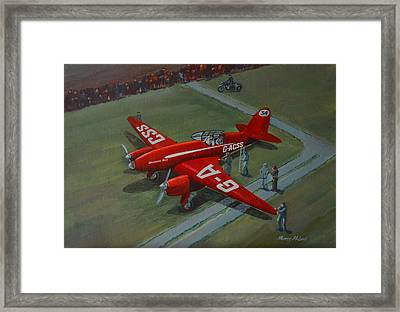 The Great Air Race Framed Print