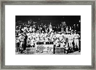 The 1934 St. Louis Cardinals Framed Print by Retro Images Archive