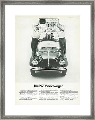 The 1970 Volkswagen Framed Print