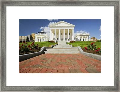 The 2007 Restored Virginia State Framed Print