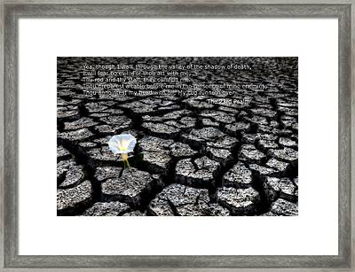 The 23rd Psalm Framed Print by Mark Duffy