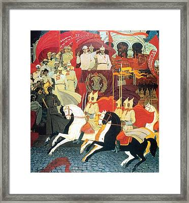 The 25th Of October 1922 Framed Print by Jake Hartz