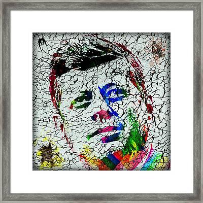 The 35th President Jfk Framed Print