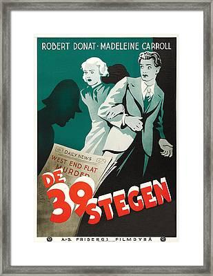 The 39 Steps - 1935 Framed Print
