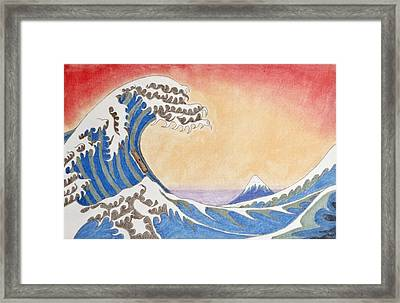 The 39th Day Framed Print by Sean Mitchell