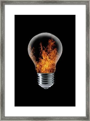 The 4 Elements I Framed Print