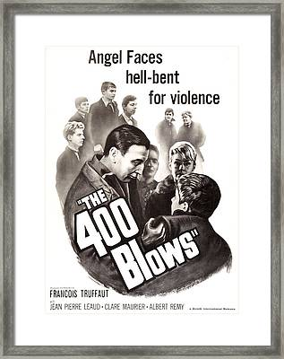 The 400 Blows, Aka Les Quatre Cents Framed Print