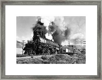 The 4019 Big Boy Framed Print