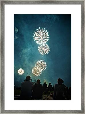 The 4th Framed Print by Josh Eral