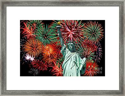 Independance Day Framed Print by Anthony Sacco