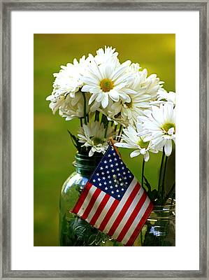 The 4th Of July Framed Print