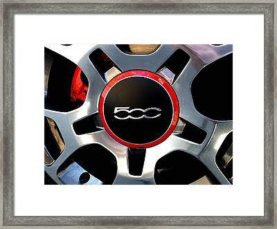 The 500 Framed Print by Richard Reeve