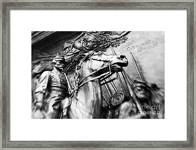 The 54th Framed Print by Scott Pellegrin