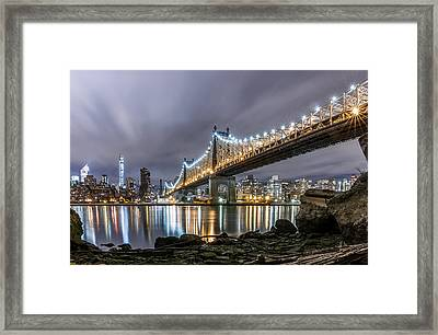 The 59th St Bridge Framed Print