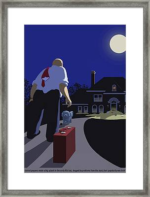 The Last Straw Framed Print by Tom Dickson