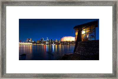 The 9 O'clock Gun Framed Print