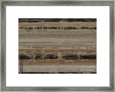 The A-crate Framed Print by Lonnie Christopher