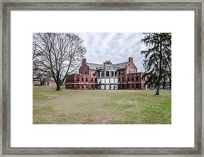 The Abandoned Building 17  - Norristown State Hospital Framed Print