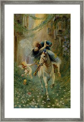 The Abduction In Cairo Framed Print by Fabbio Fabbi