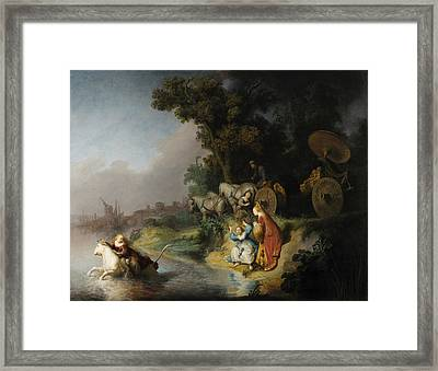 The Abduction Of Europa Framed Print