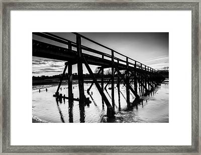 The Aberlady Bridge Framed Print
