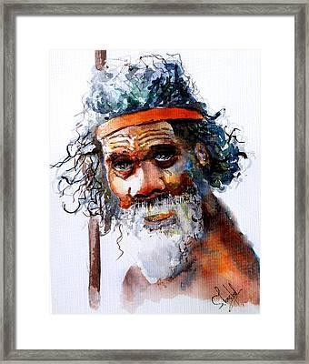 The Aborigine Framed Print