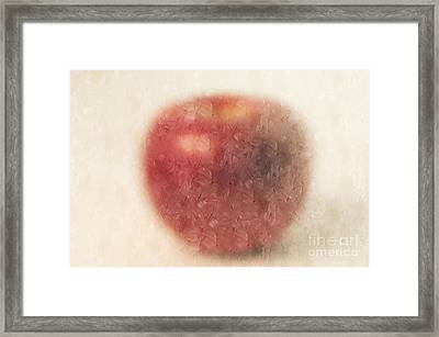 The Abstract Apple Framed Print by Andee Design