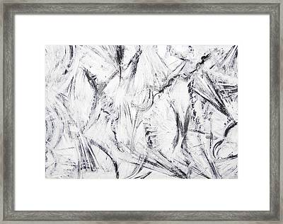 The Abstract War Framed Print