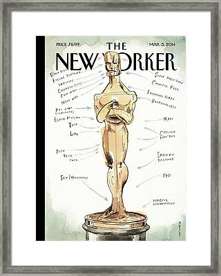 The Academy Award's Beauty Secrets Framed Print