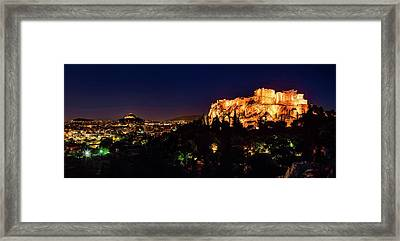 The Acropolis Framed Print by Babak Tafreshi