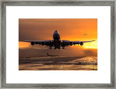 The Active Framed Print