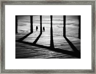 The Add Dimension Framed Print