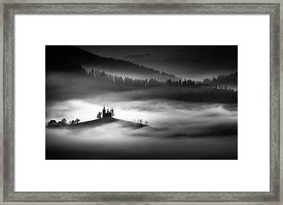The Addams Family Land Framed Print