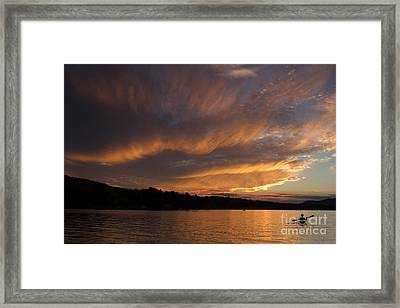 The Adirondack Life Framed Print by Chris Scroggins