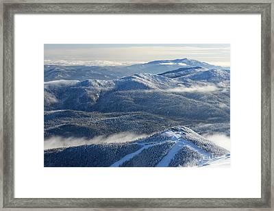 The Adirondacks Framed Print