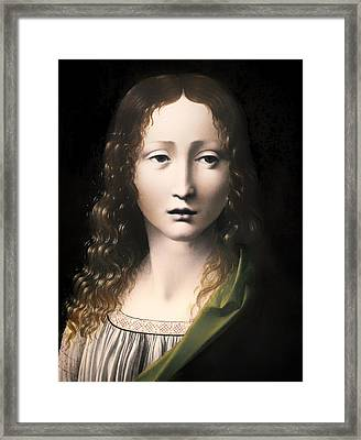 The Adolescent Savior Framed Print by Mountain Dreams