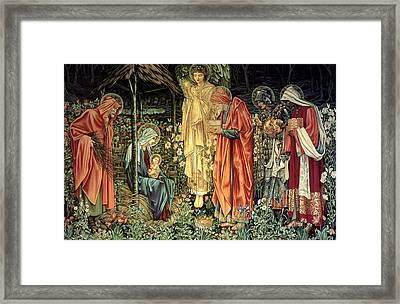 The Adoration Of The Kings Framed Print by Bradley Skeen