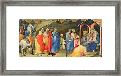 The Adoration Of The Magi Framed Print by Gherardo Starnina