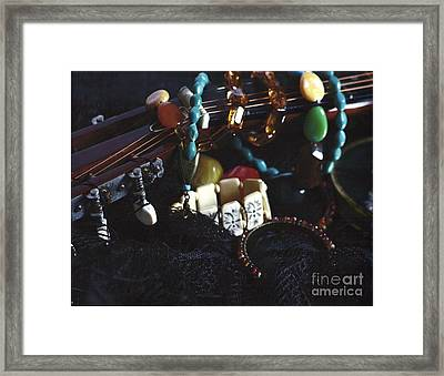 The Adorned Jewel-a Framed Print
