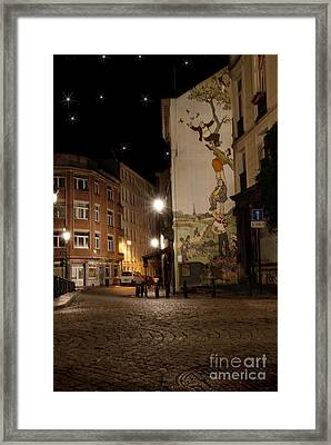 The Adventures Of Nero Framed Print