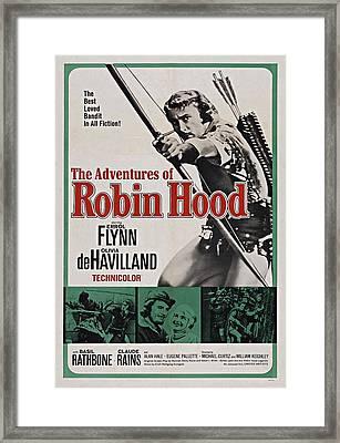 The Adventures Of Robin Hood B Framed Print