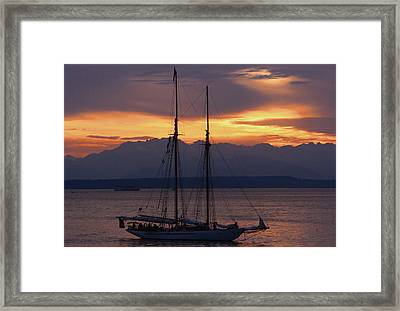 The Adventuress Cruise Framed Print by Kym Backland