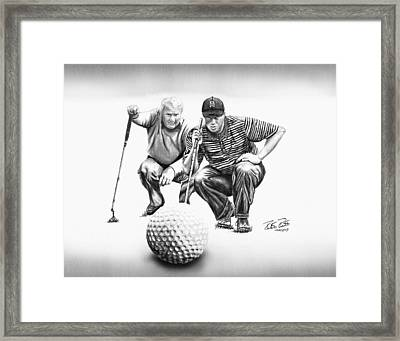 The Advisor Le Framed Print by Peter Piatt