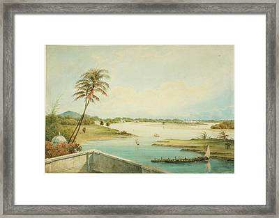 The Adyar River Framed Print