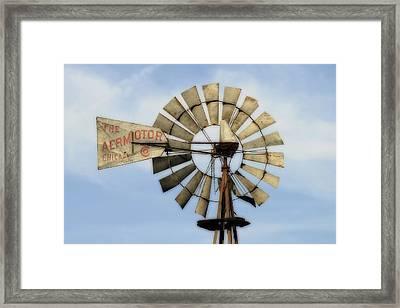 The Aermotor Company Framed Print