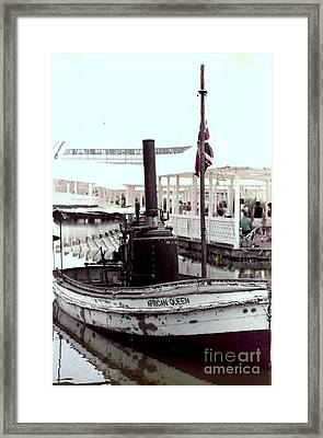 The African Queen In Living Color Framed Print by Michael Hoard