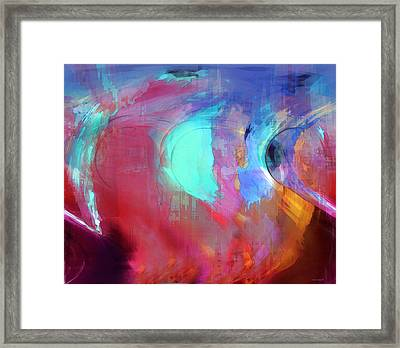 The Afterglow Framed Print by Linda Sannuti