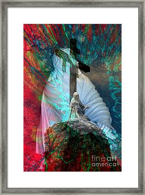 The Agony And The Ecstacy Framed Print