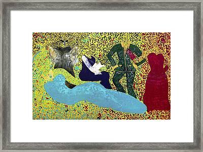 The Agora Framed Print by Tahnya Spirit