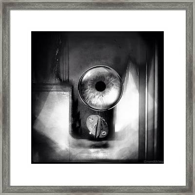 The Aha Moment Framed Print by Richard Smith